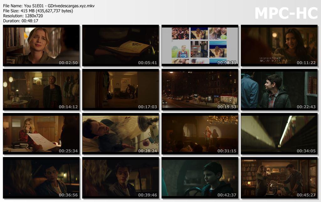 Capturas You Temporada 1 Google Drive