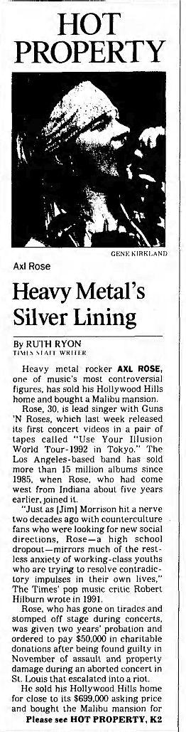 1992.12.13 - Los Angeles Times - Heavy Metal's Silver Lining (Axl) U8HISDwc_o