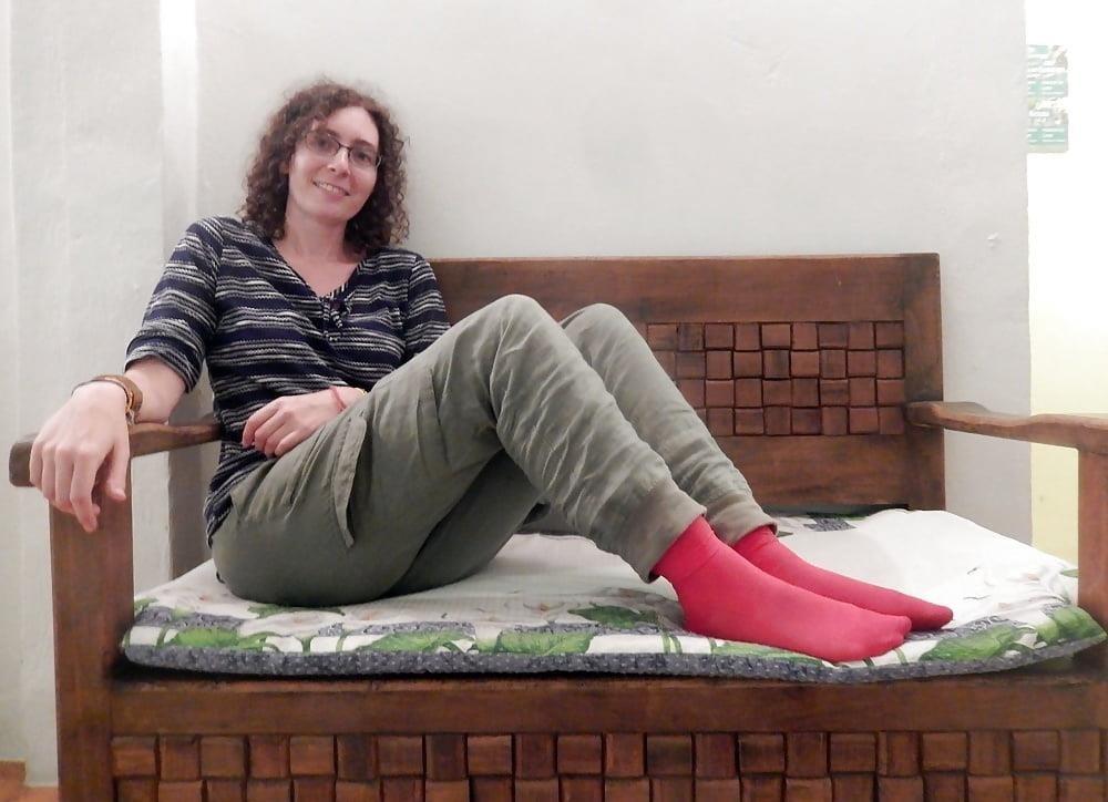 Mature foot tube-4978