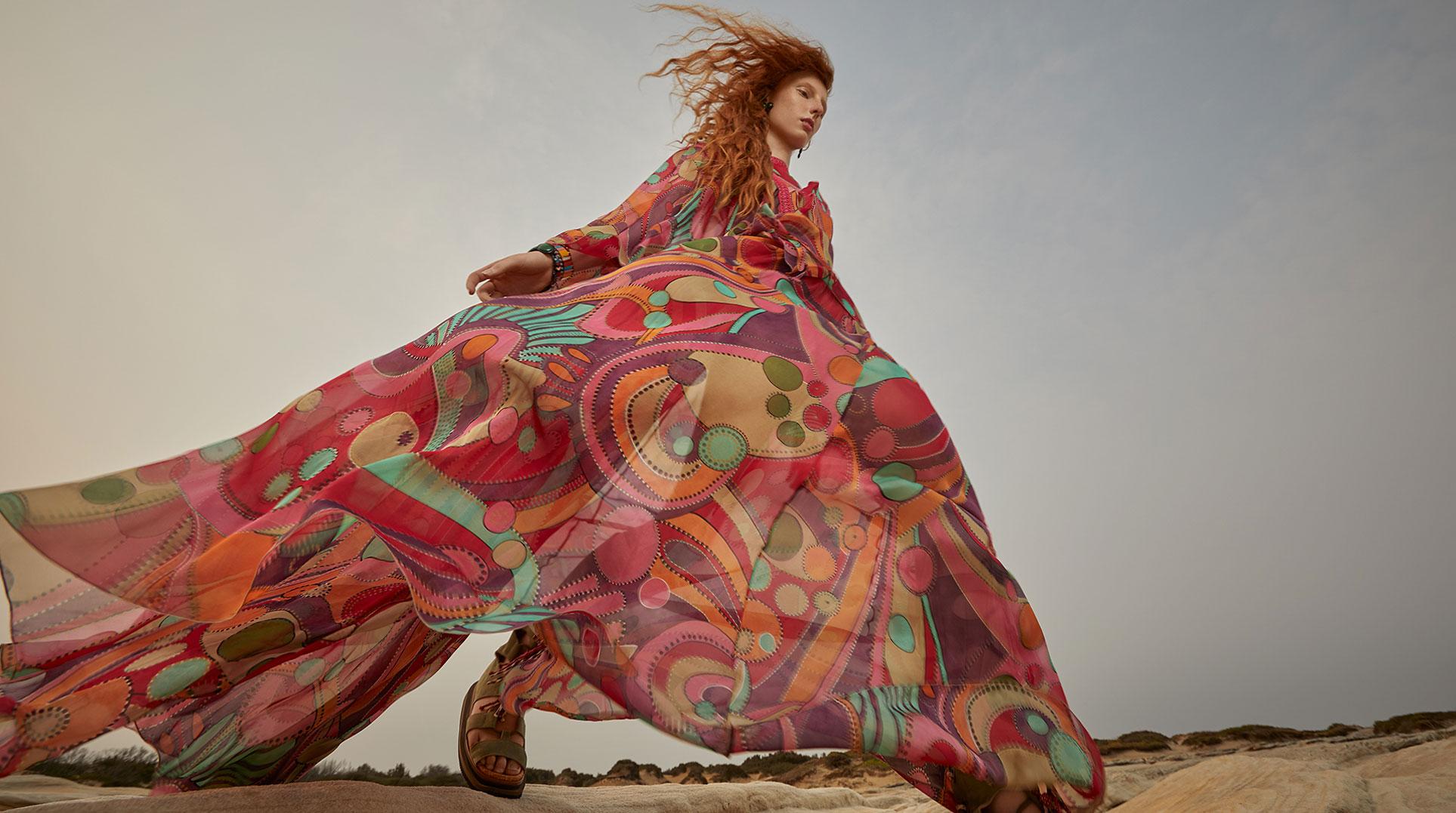 Модный маскарад в журнале Grazia / фото 15