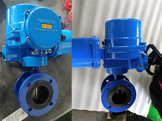 Electric butterfly valves and EPDM rubber joints of Bundor Valve are used in engineering projects