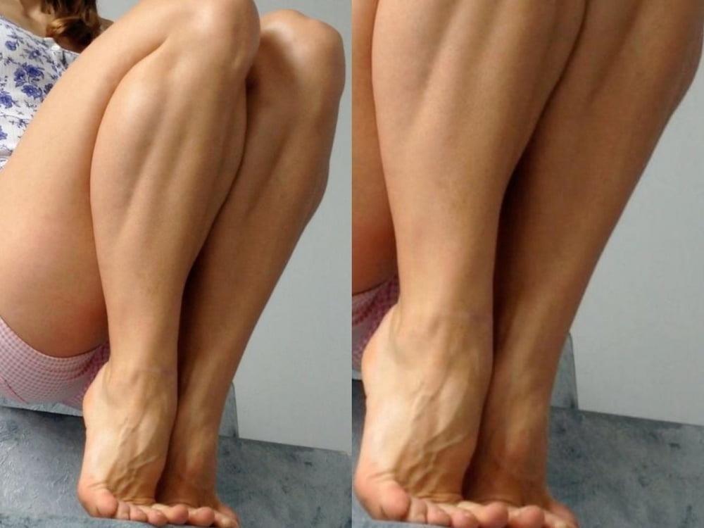 Bodybuilder female clit-9531