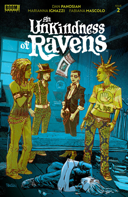 An Unkindness of Ravens #1-3 (2020)
