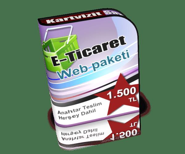 E-Ticaret Web Sitesi Çözümlerimiz