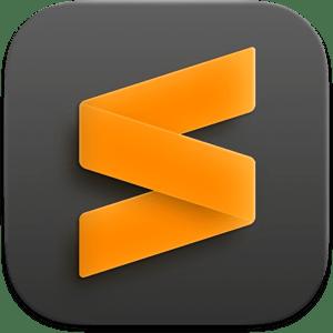 Sublime Text 4 Dev Build 4118 macOS