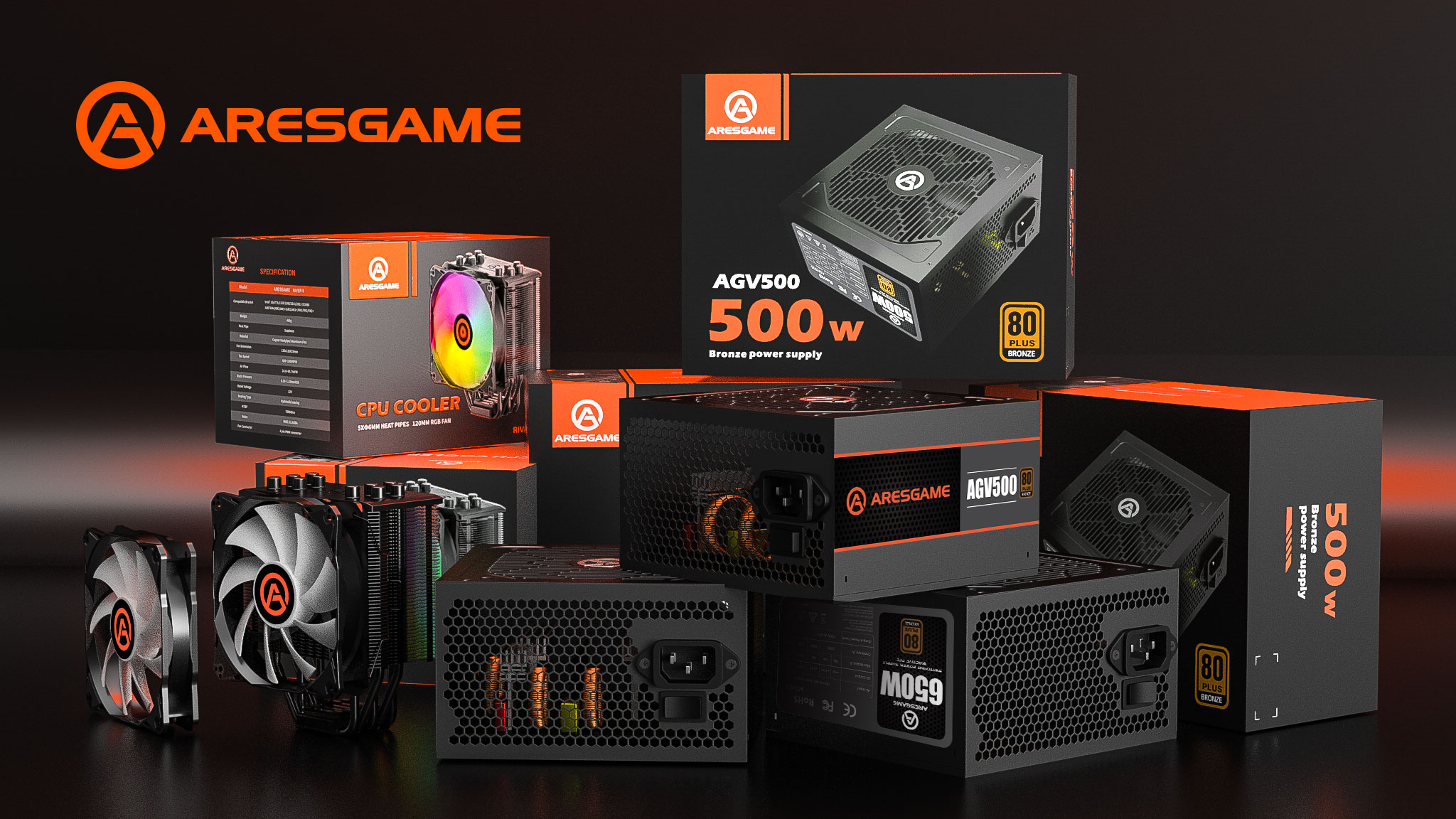 ARESGAME Presents High-Quality Power Supply Units Designed With Best Technology At Affordable Price To Provides Optimal Performance