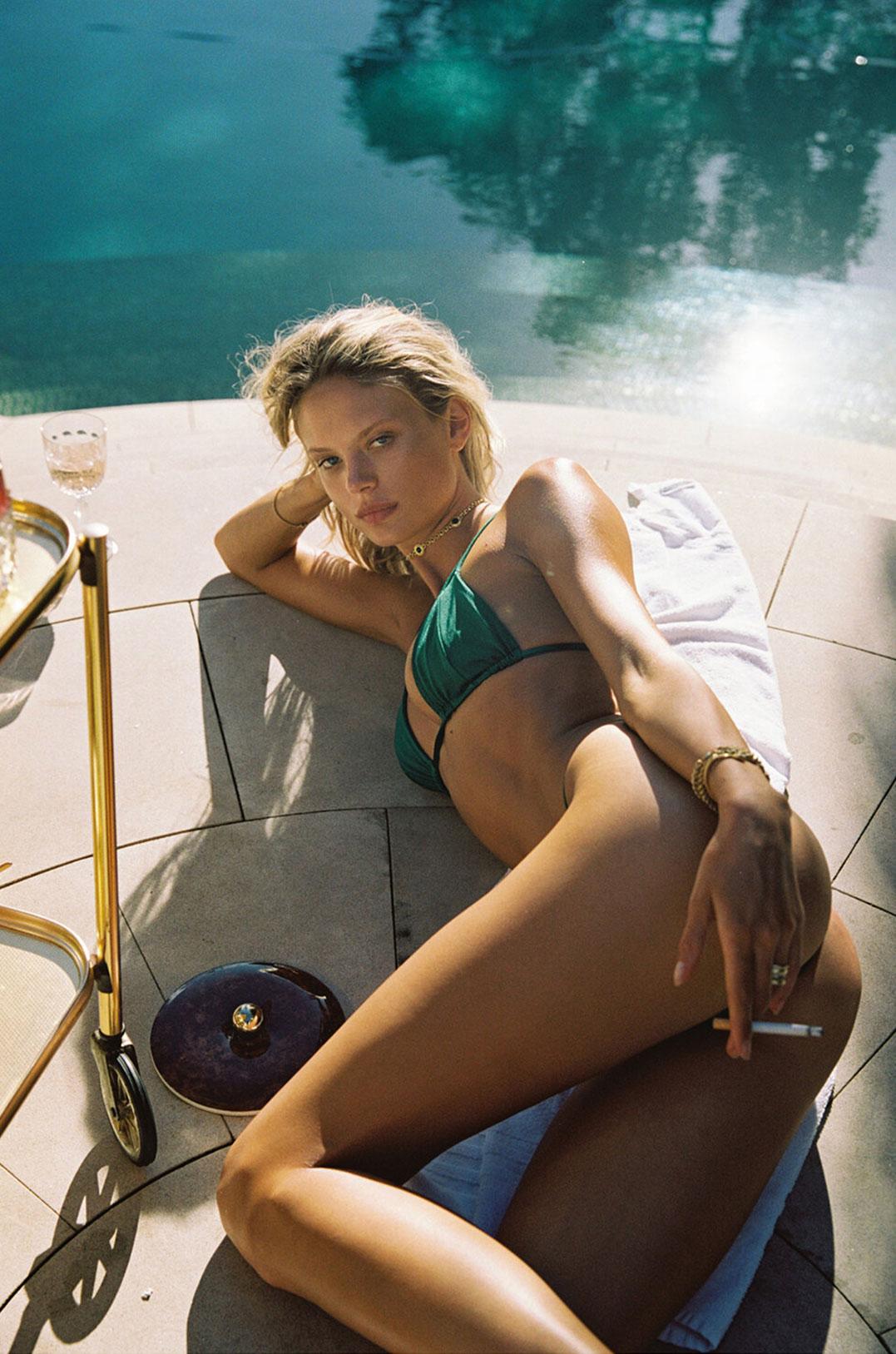 гедонистические развлечения богемы в рекламной кампании коллекции курортной одежды Sommer Swim 2020 / фото 07