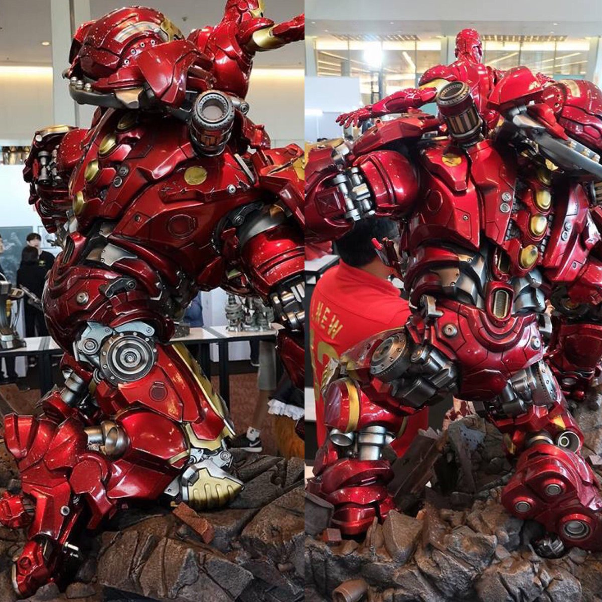 Avengers : Age of Ultron - HulkBuster Premium Collective 1/4 Statue (Hot Toys) Kbl3k2qT_o