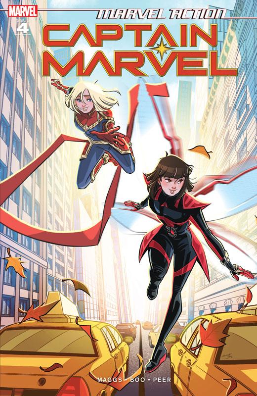 Marvel Action Captain Marvel #1-6 (2019-2020)