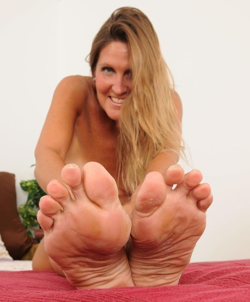 Granny foot femdom-4191