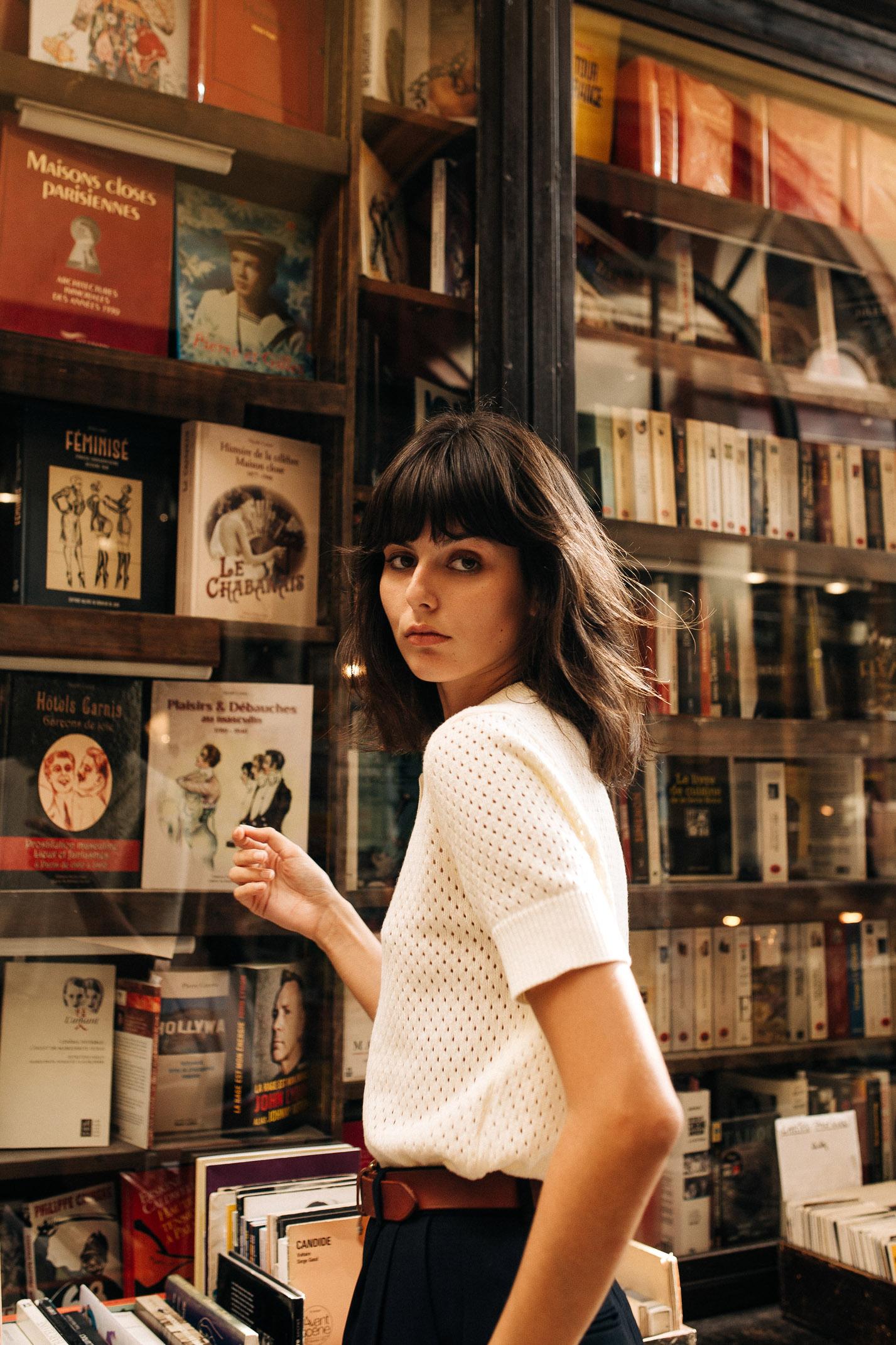 прогулка по парижской торговой галерее с Жустин Соранзо / фото 07
