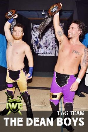 Tag Team Champions The Dean Boys