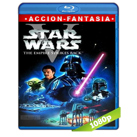 Star Wars Episodio V El Imperio Contraataca (1980) BRRip Full 1080p Audio Trial Latino-Castellano-Ingles 5.1