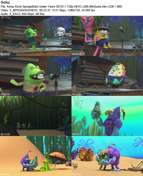 Kamp Koral SpongeBobs Under Years S01E11 720p HEVC x265-MeGusta