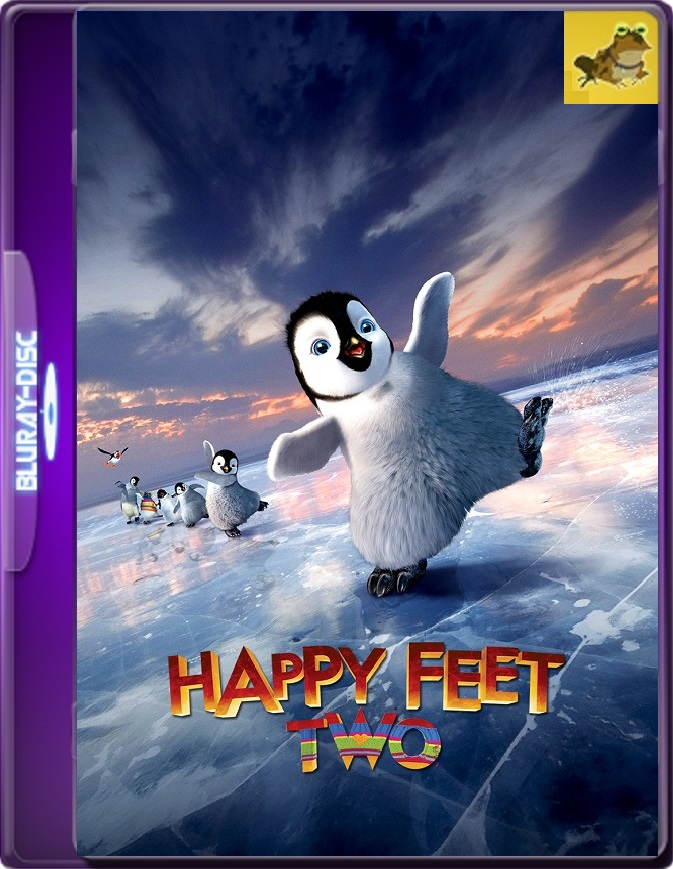 Happy Feet: El Pinguino 2 (2011) Brrip 1080p (60 FPS) Latino