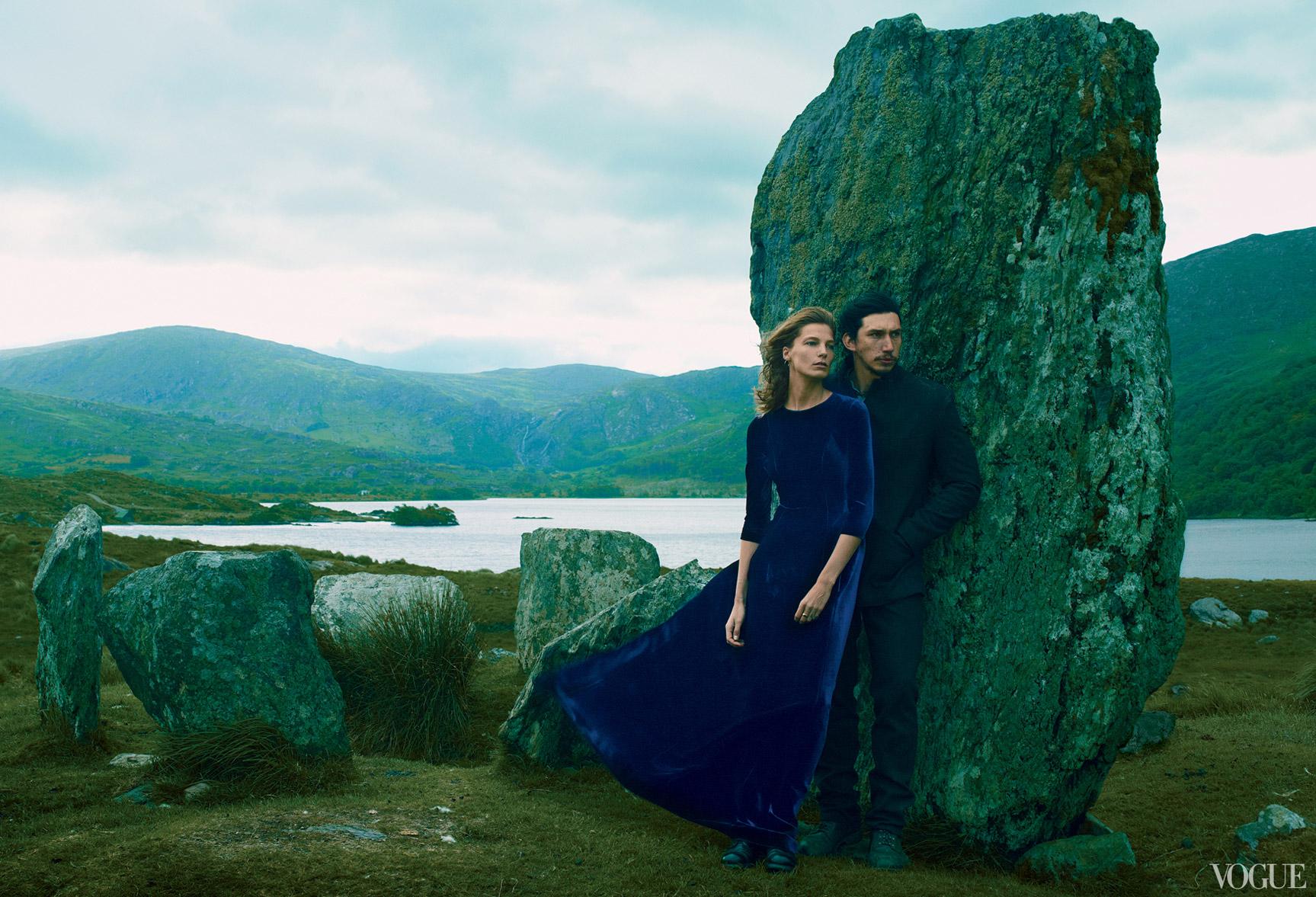 Дарья Вербовы и Адам Драйвер отдыхают на необитаемом острове / фото 06
