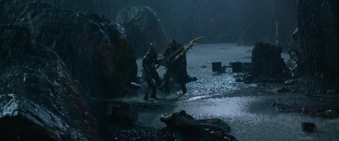 Monster Hunter (2020) 1080p Blu-Ray x264 DD5 1 [Hindi+Tamil+Telugu+English]