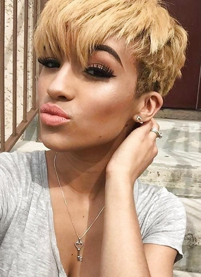 Different short hairstyles for black ladies-6658