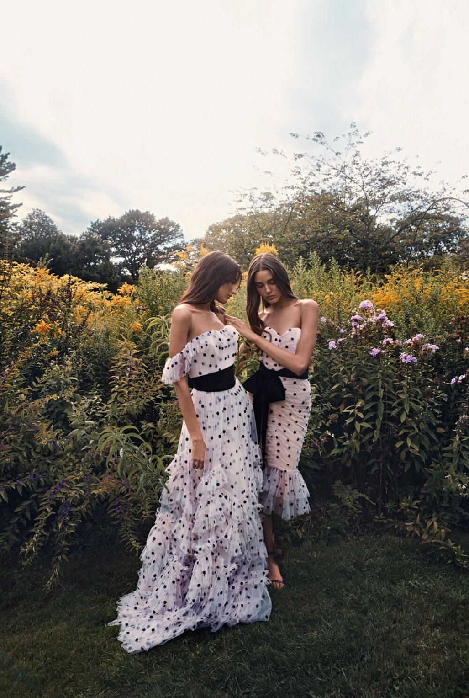 Коллекция модной одежды Marchesa, сезон весна-лето 2020 / фото 05