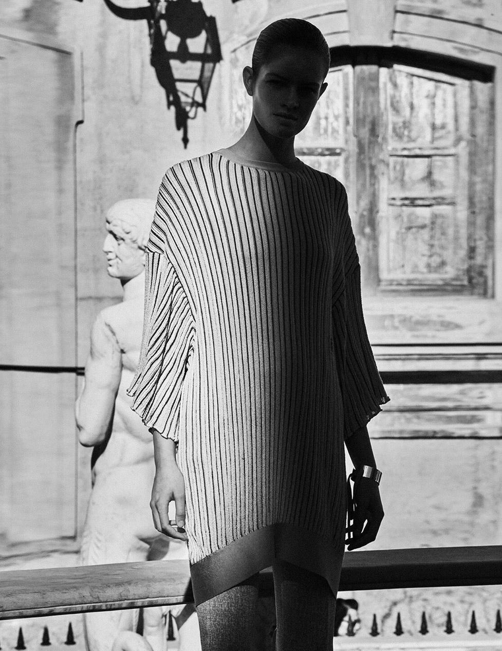 Sophia Roetz by Txema Yeste / Vogue Spain february 2019