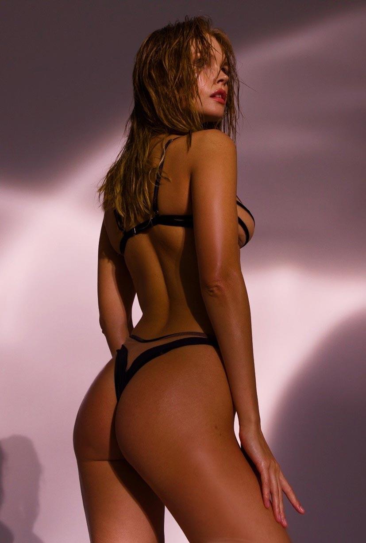Анастасия Щеглова в сексуальном нижнем белье God Save Queen / фото 17