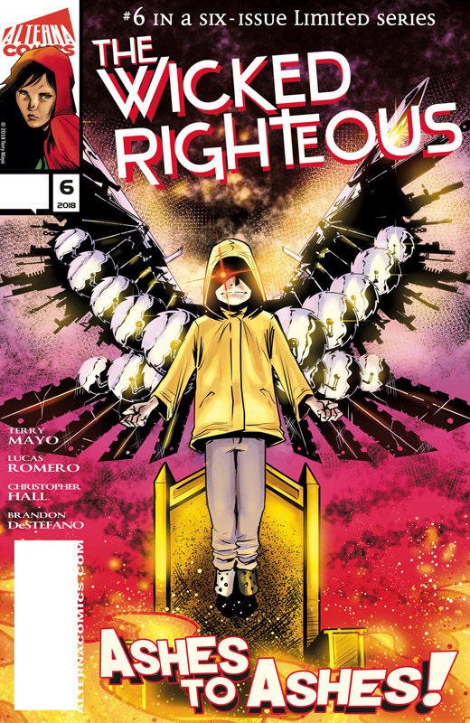 The Wicked Righteous #1-6 (2017-2018) Complete