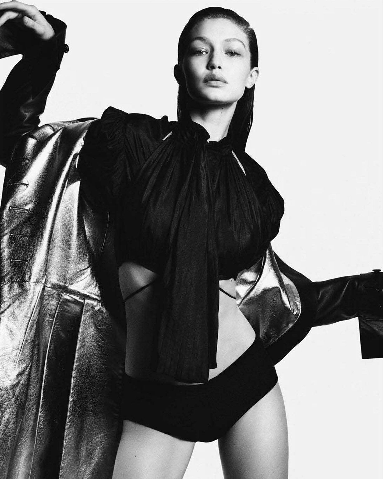 Gigi Rocks / Gigi Hadid by Luigi Murenu and Iango Henzi - Vogue Japan june 2018