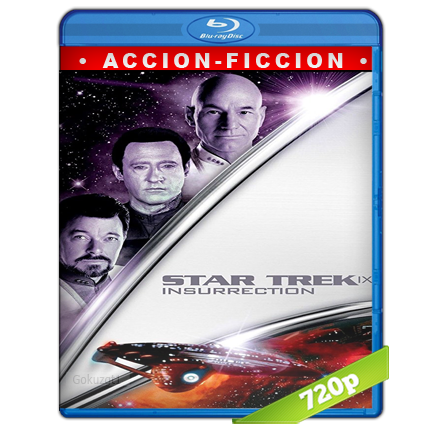 descargar Viaje A Las Estrellas 9 Insurreccion 720p Lat-Cast-Ing 5.1 (1998) gartis