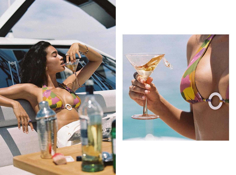 Келли Гейл в купальниках модного бренда Bamba Swimwear, лето 2020 / фото 15