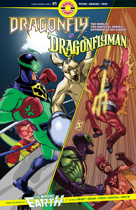 Dragonfly & Dragonflyman #0-5 (2019-2020) Complete