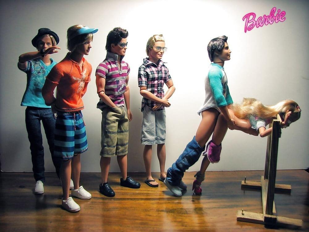 Cartoon barbie porn-9118