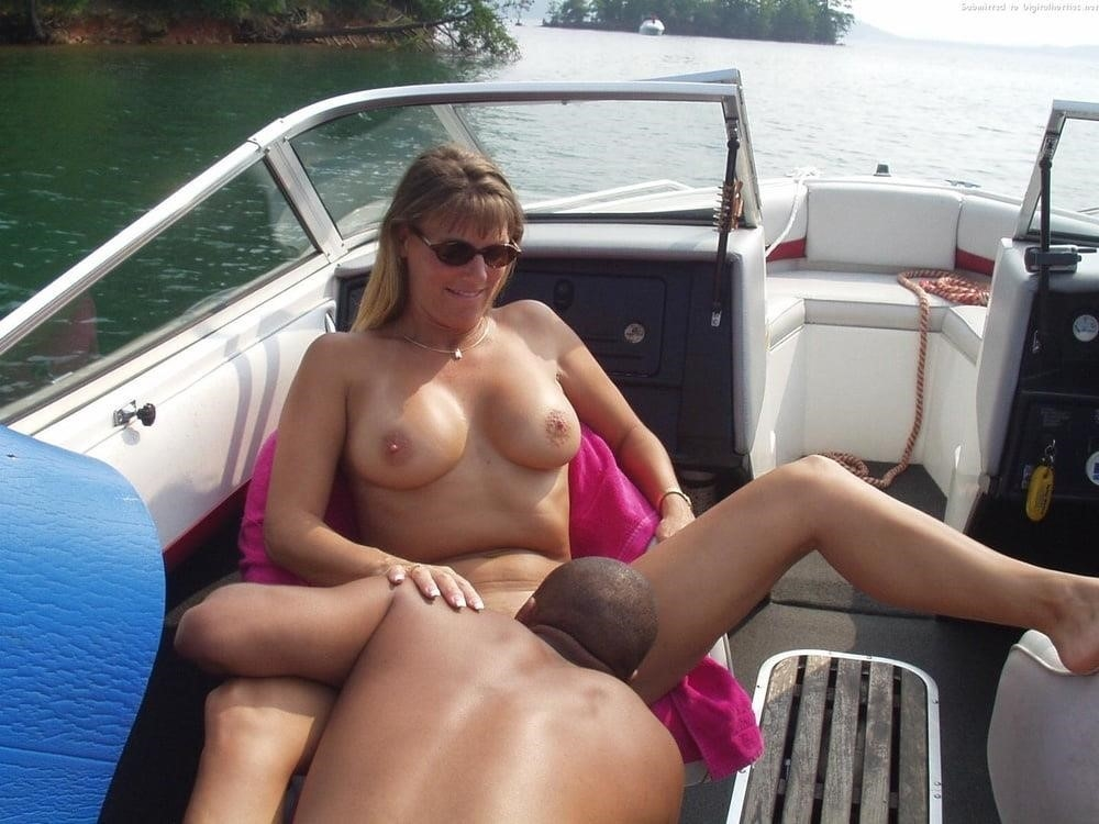 Husband shares wife in threesome-6229