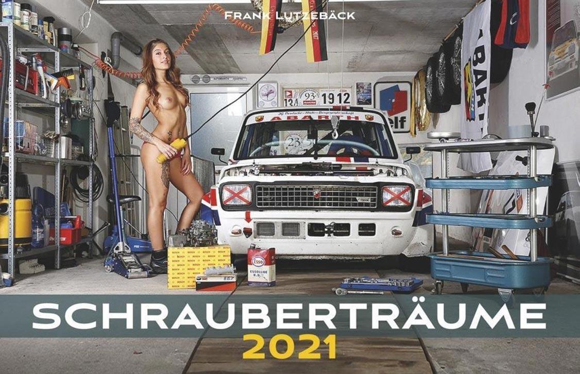 Эротический авто-календарь -Отвертка мечты 2021- / обложка
