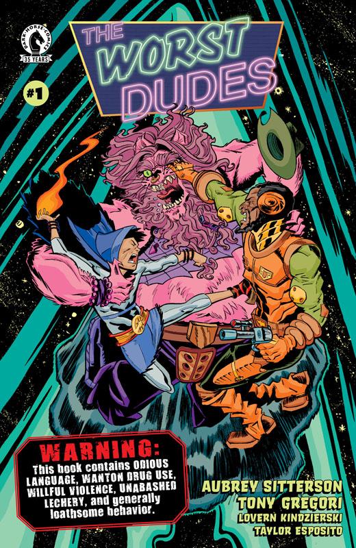 The Worst Dudes #1-4 (2021)