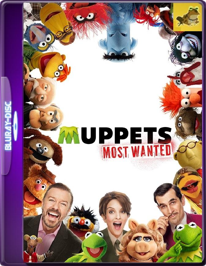 Muppets 2: Los Más Buscados (2014) Brrip 1080p (60 FPS) Latino / Inglés