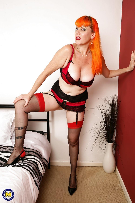 Milf big tits stocking-3456