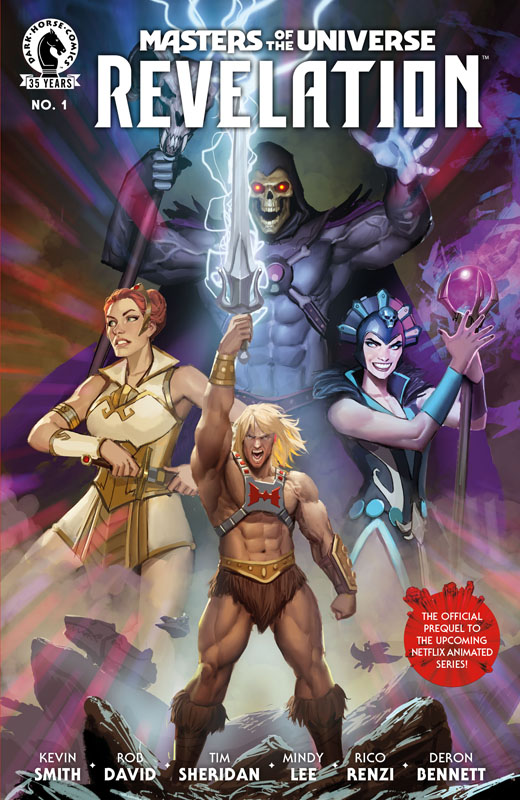 Masters of the Universe - Revelation #1-3 (2021)