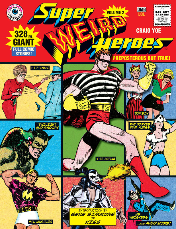 Super Weird Heroes v02 - Preposterous But True (2018)