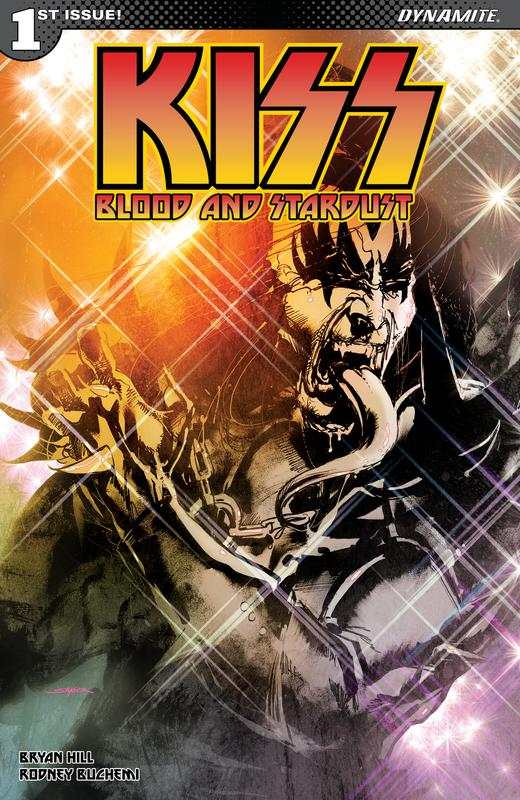 KISS - Blood and Stardust #1-3 (2018)