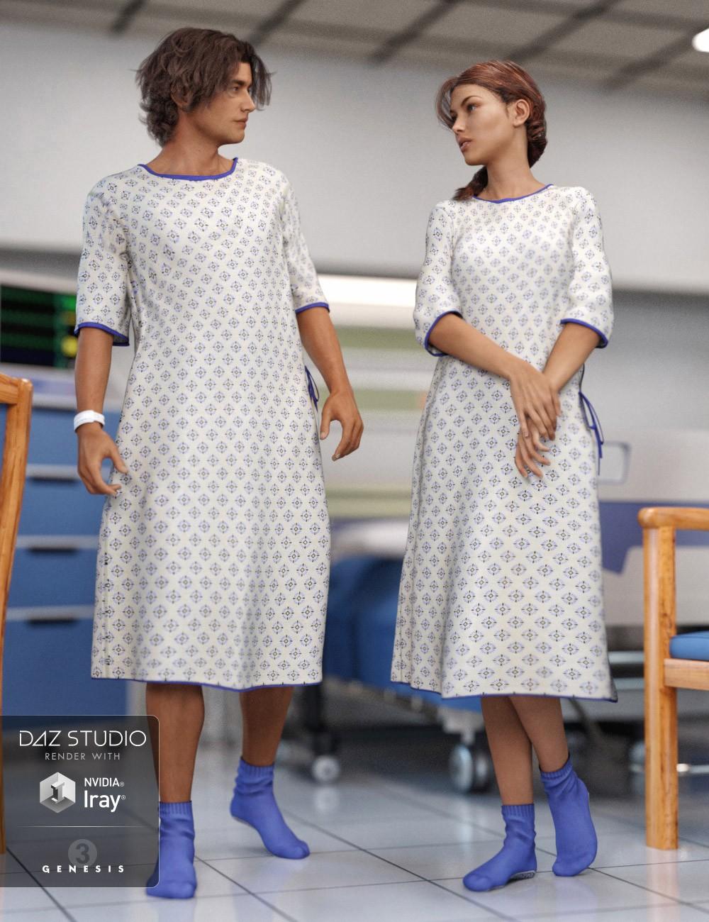 Hospital Wear for Genesis 3