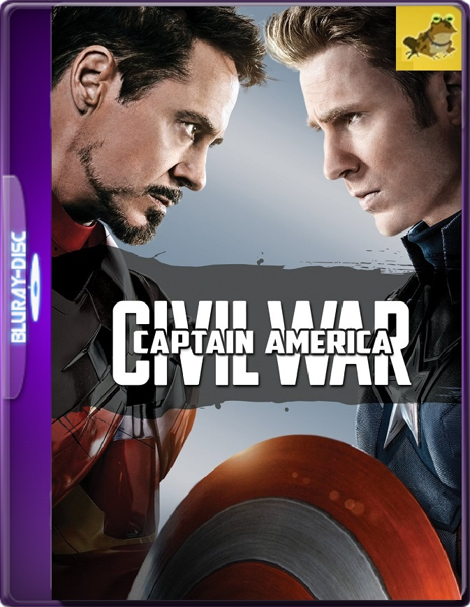 Capitán América: Civil War (2016) Brrip 1080p (60 FPS) Latino / Inglés