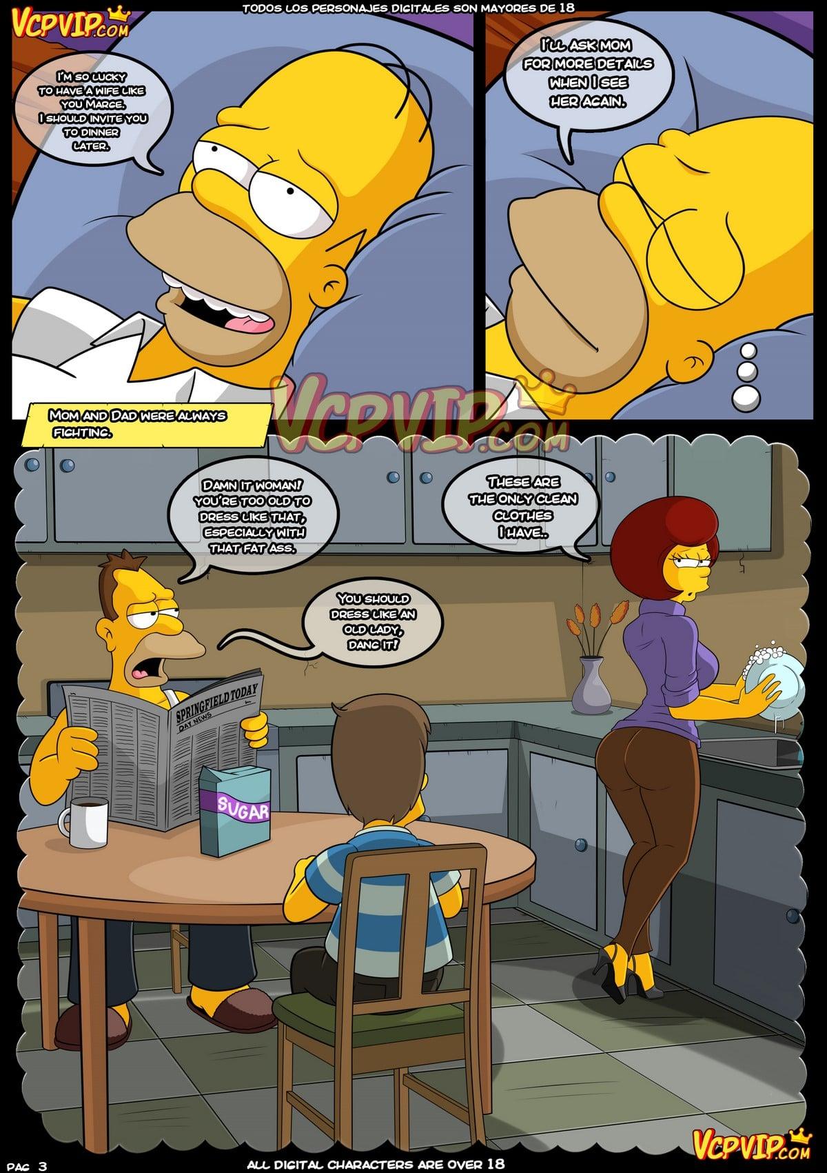 (English) Simpsons: Mum (Original VCP) - 3