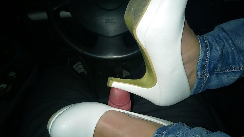 Lesbian foot fetish nylon-2428