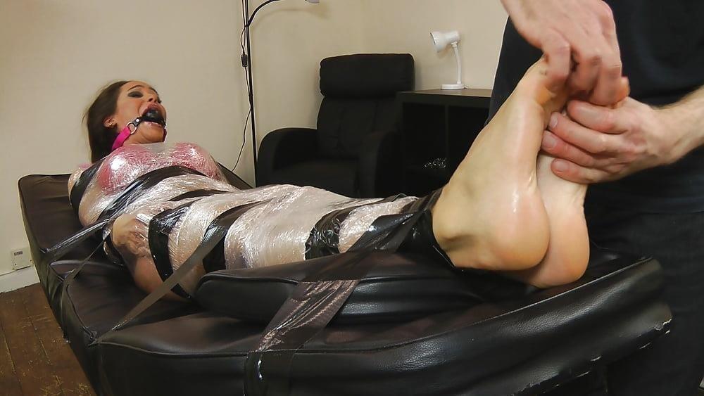 Bondage tickle feet-8188