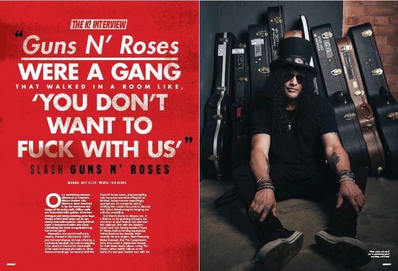 "2018.09.05 - Kerrang! - ""Guns N' Roses were a gang"" (Slash) YvdAWjRz_o"