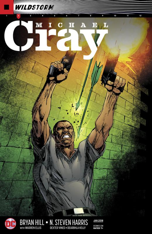 The Wild Storm - Michael Cray #1-12 (2017-2018) Complete