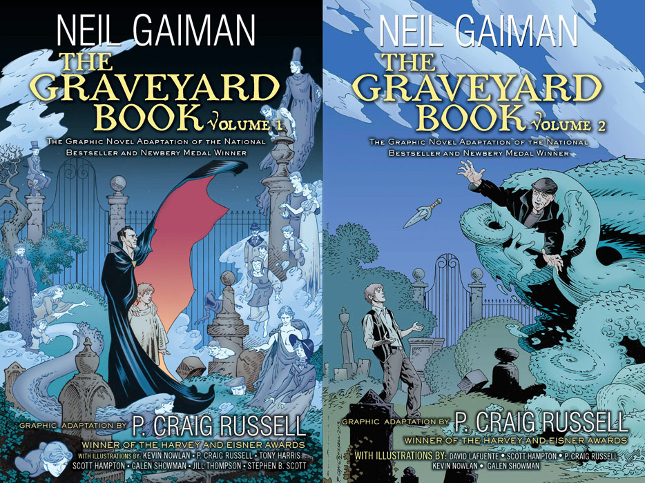 The Graveyard Book Graphic Novel v01-v02 (2014)