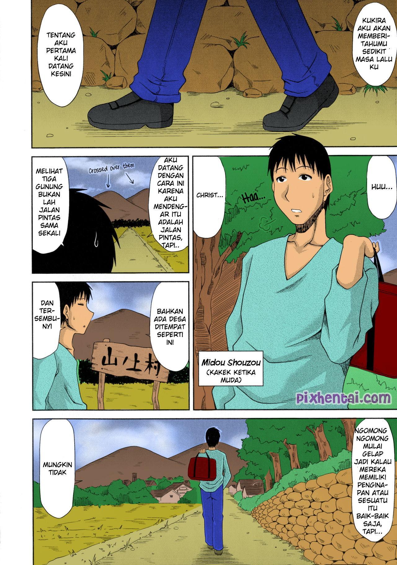 Komik hentai xxx manga sex bokep cerita kakek menghamili seluruh wanita desa 02