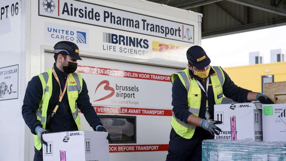 As a global race for the coronavirus vaccine heats up