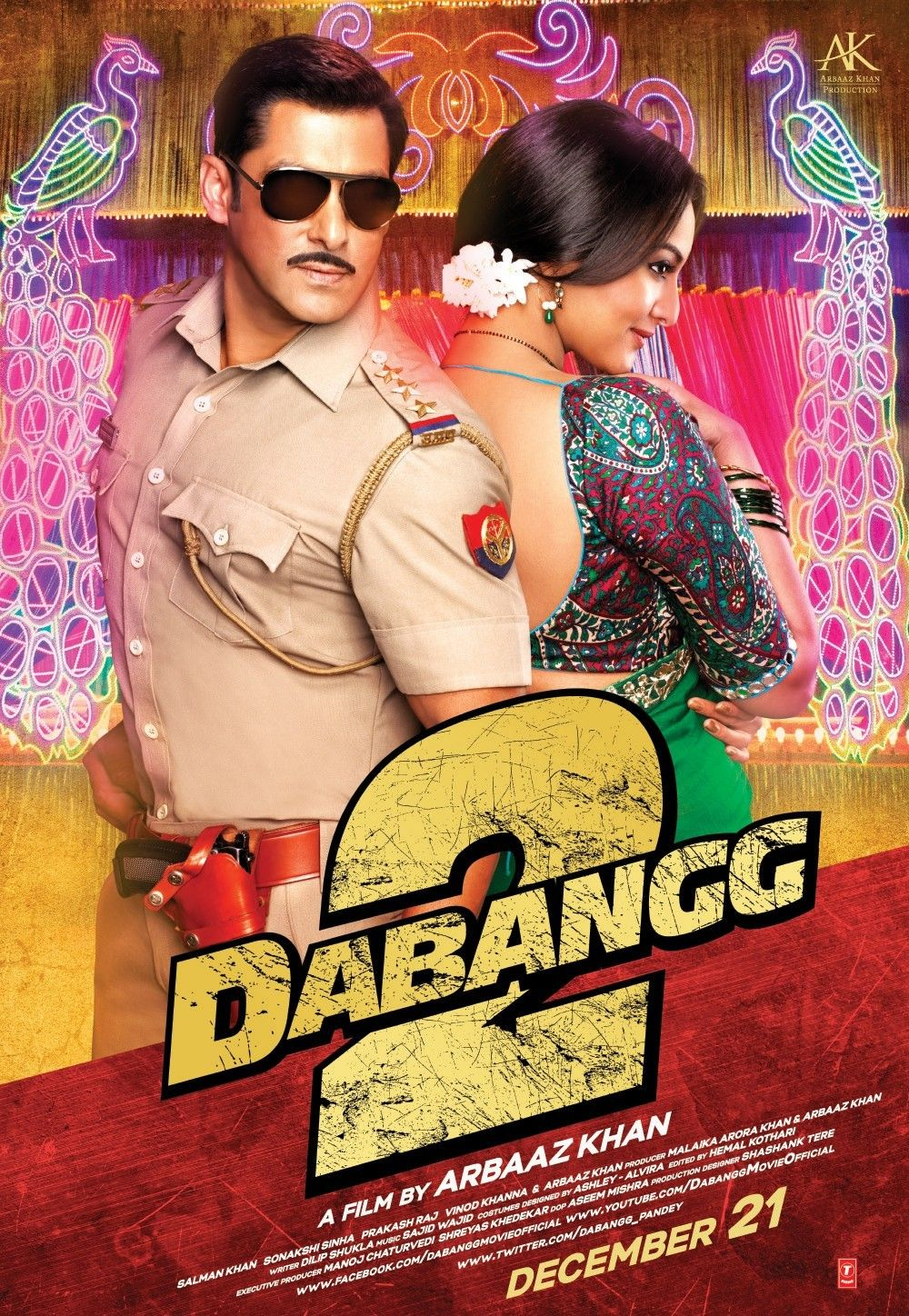 Dabangg 2 2012 BD50 1080p Untouched BluRay Eros DRs | 31 GB |